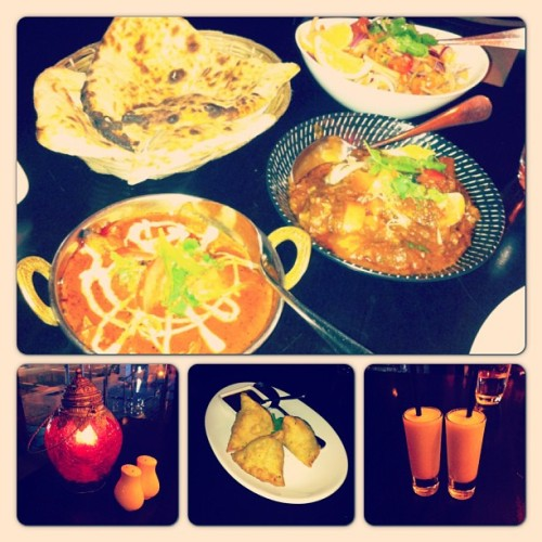 Amazing Indian Feast! Goat banjara is a must try :)) #dinner #indian #datenight (at Kanishk)