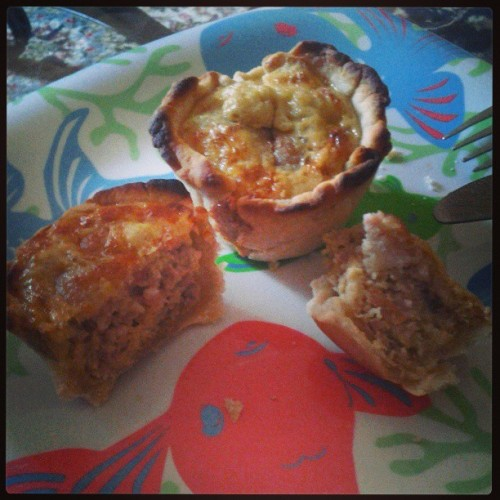 Breakfast tartlet/mini pie