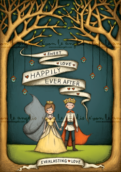 Valentines Series: Happily Ever AfterA series of illustration for your love ones! The characters and words are customizable to your own. Have a fairytale like drawing of yourselves like those in the stories.. ♥♥