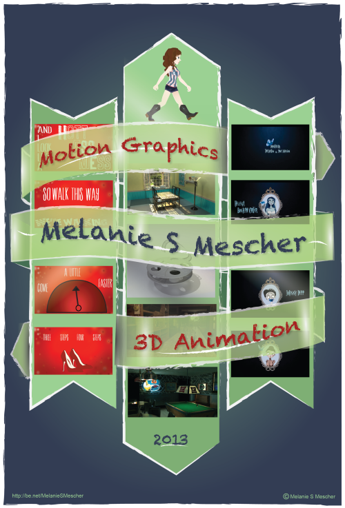 Finished my Motion graphics/3d animation poster :)