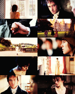 youreawizardmerlin:  Favorite Movies - Pride & Prejudice (2005)