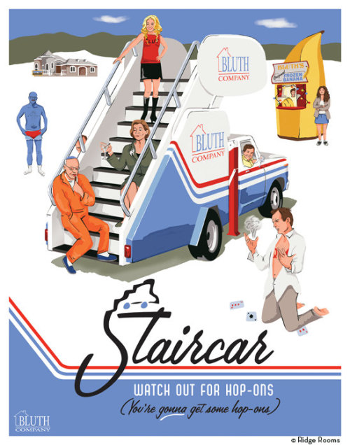 thebluthcompany:     Staircar by RidgeRooms     Whoa … thanks for the shoutout! :D Good time to point out I have 3 APs of these left (out of 7). I put them on my new etsy.