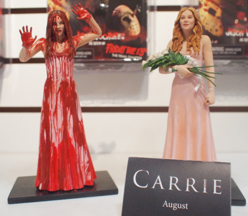 See Chloe Moretz as CARRIE in NECA Toys' bloody action figures!