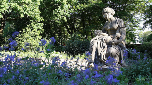 "Statue in the Scent Garden - Volkspark Friedrichshain on Flickr.Via Flickr: Still photo from the video ""Volkspark Friedrichshain (People's Park) – In A Berlin Minute (Week 159)"" Watch the video: movingpostcard.com/volkspark-friedrichshain-berlin/"