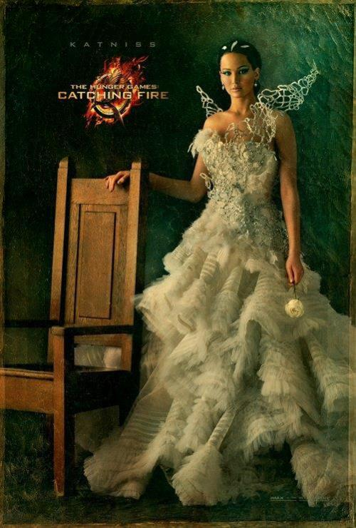 teendotcom:   'Catching Fire' Character Poster For Katniss Revealed
