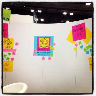 Love the @postitproducts booth. #createbig #sxsw