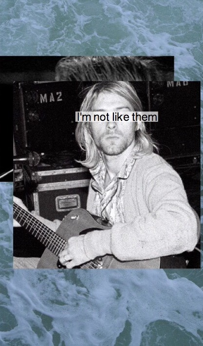 6 Kurt Cobain Lockscreen