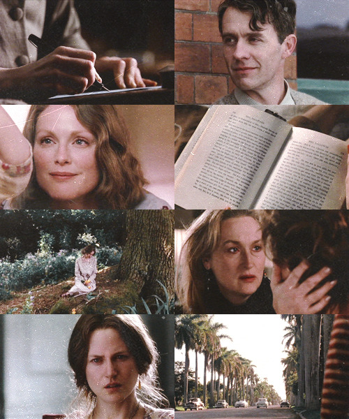 "alaynesque:  all time favourite movies: the hours (2002)  ""That is what we do. That is what people do. They stay alive for each other."""