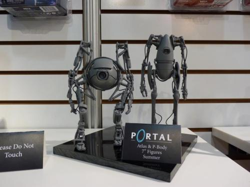 Coming soon! Portal figures from N.E.C.A!
