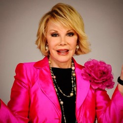 To the most fabulous Style Icons, Joan Rivers…She made us laugh, she gave her opinion on fashion and now she will fovever be in our hearts and thoughts!! Thank you for your brutal honesty and critiques of all the celebrities on the red carpet and on Fashion Police throughout the years!!  #RIP #Legends #StyleIcons #FashionIcons
