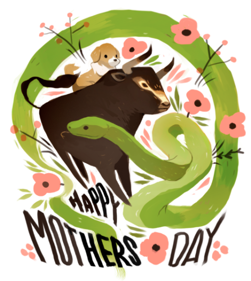 Just something cute for Mother's Day~ My mom is the Year of the Dog and a Taurus!