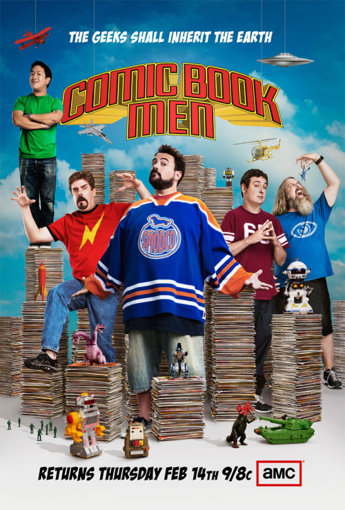 comicbookmen:  COMIC BOOK MEN GETS A NEW POSTER FOR THEIR MID SEASON PREMIERE.