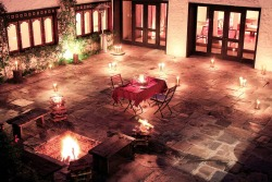 Private Dining in the Courtyard