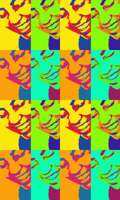 Pop Art ? lol  Showilov's portrait