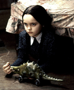 suicideblonde:  Christina Ricci in Addams Family Values