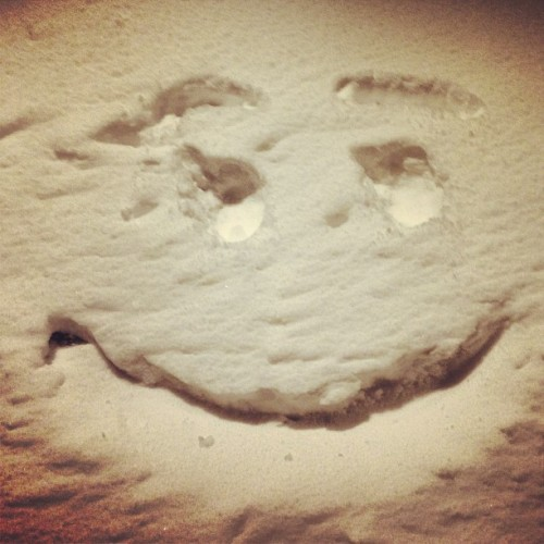 Snowface #happyface #happy #snow