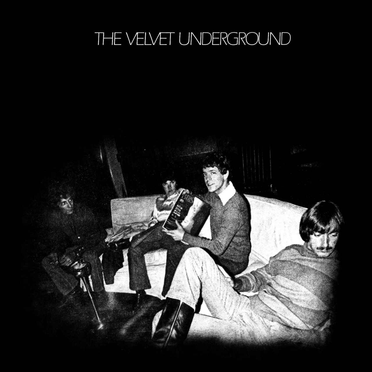 The Velvet Underground 'The Velvet Underground', MGM, 1969. Photograph by Billy Name, art direction by Dick Smith.