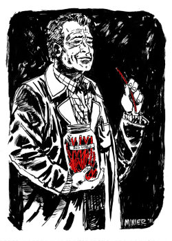 Walter Bishop by Aaron Minier One of the best characters ever.