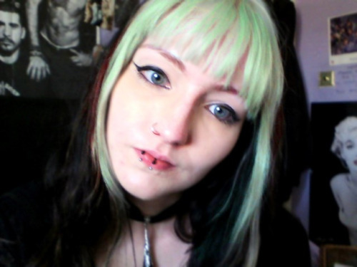 I might dye my hair back to this at some point if I can get all the dark colour out. The up-keep was an effort, though.