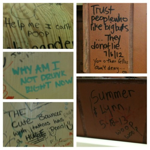Bathrooms are fun (at Flora-Bama)