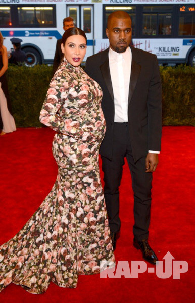 Givenchy's Riccardo Tisci also dressed dad-to-be Kanye West and his pregnant girlfriend Kim Kardashian @ MET Gala Event.