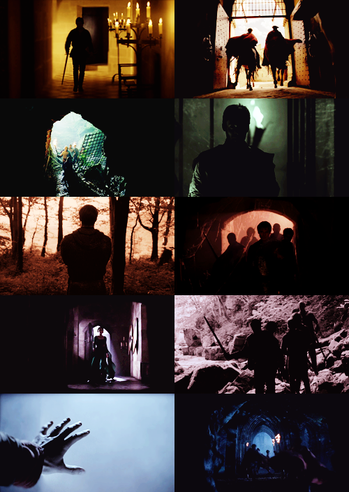 merlin | colors & silhouettes