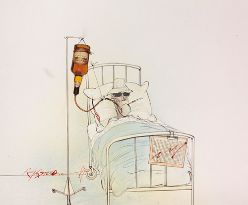 "The Art of Ralph Steadman's ""Slightly Maniacal"" Humor ""When I don't know what to do, I do that!"""