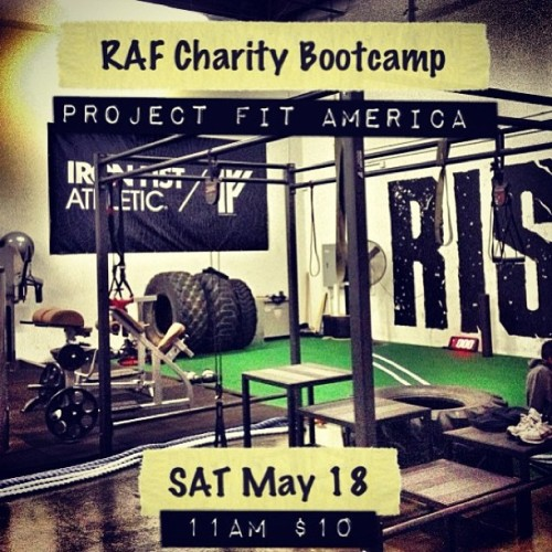 #RiseAboveFitness & @irnfstathletic along with co-host @chasingcomets are doing this amazing bootcamp! Project Fit America brings in funding, equipment, teacher training and resources schools need to get kids fit. It's critical that we stress the importance of fitness on the youth due to the increasing rates of childhood obesity. So please come out to RAF, get your ass kicked, and help a great cause! So ease join us. NO EXCUSES!! 😠  RAF address: 5445 Oceanus Dr Huntington Beach‎ California‎ 92649 #raf #teamraf #power #stength #gym #me #instagood #instagramfitness #fitness #fitblr #fit #bootcamps #exercise #funtional #training #endurance #core