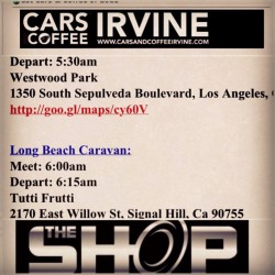 Cars & Coffee Tomorrow! lets go #theshopcc #love #instagood #me #cute #cars #photooftheday #instamood #picoftheday #beautiful #iphonesia #igers #instadaily #tweegram #summer #instagramhub #happy #bestoftheday #iphoneonly #igdaily #picstitch #webstagram #fashion #sky #nofilter #jj #followme #fun #smile  (at Globe Tire and Motorsports)