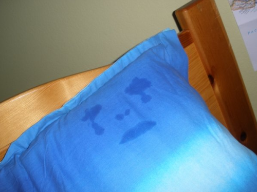 once i had a breakdown and cried into my pillow and this happened and i feel like this is an accurate representation of my current mental state