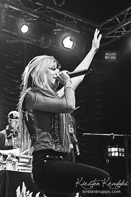 Allison Green of the Millionaires on Flickr.© Kirsten Krupps. @ALLISONGREEN of @THEMILLIONAIRES in Joliet, IL 4/24!