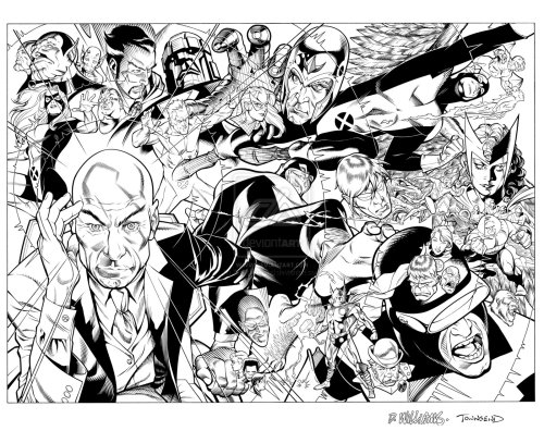 comicbookartwork:  X-Men First Class by Dave Williams and Tim Townsend
