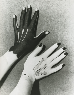 Man Ray - 1935 Hands Painted by Picasso