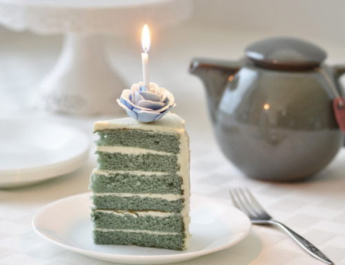 fattributes:  Earl Grey and Vanilla Bean Birthday Cake