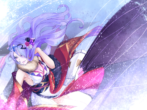 Camilla princess dragon dragon rider fire emblem fe feh fe14 fe 14 fates birthright conquest fire Emblem conquest fire Emblem fates fire Emblem heroes holiday new years banner special kimono anime gaming nintendo