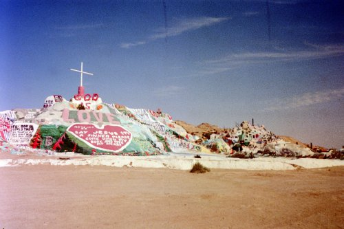 dazzychains:  Salvation Mountain