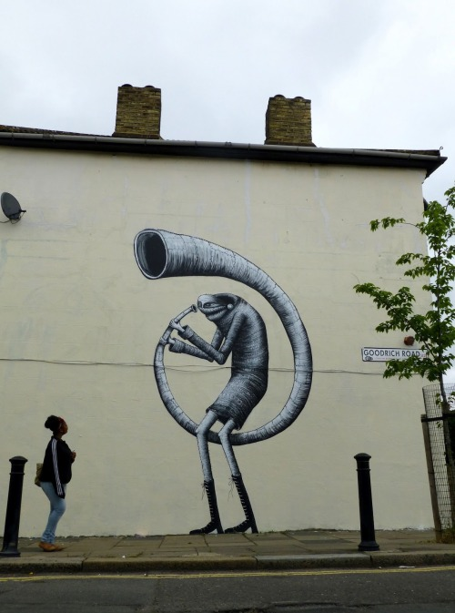 outsidermag:  PHLEGM - Untitled For the Baroque the Streets Festival London (UK). 2013