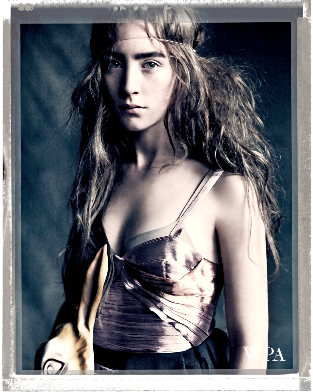 Saoirse Ronan: Put a Spell On You - Vogue UK by Paolo Roversi, April 2013