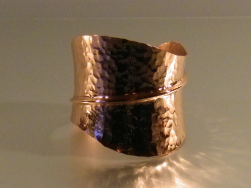 arts & crafts, copper bracelet