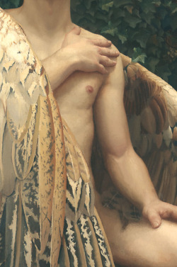 fischerstoreroad:  The Fallen Angel (detail) Arantzazu Martinez