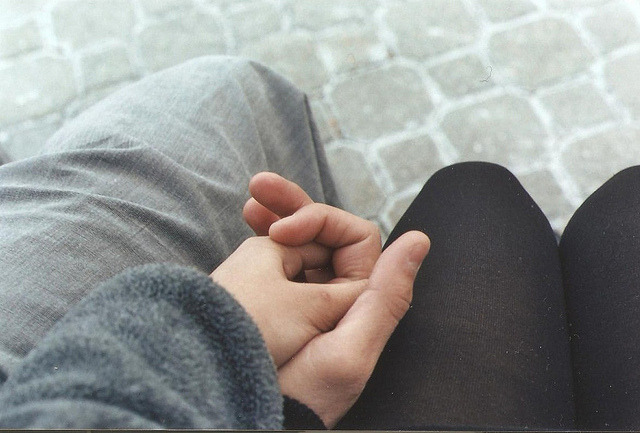 filariae:  hand holding by ∞ rachiel on Flickr.