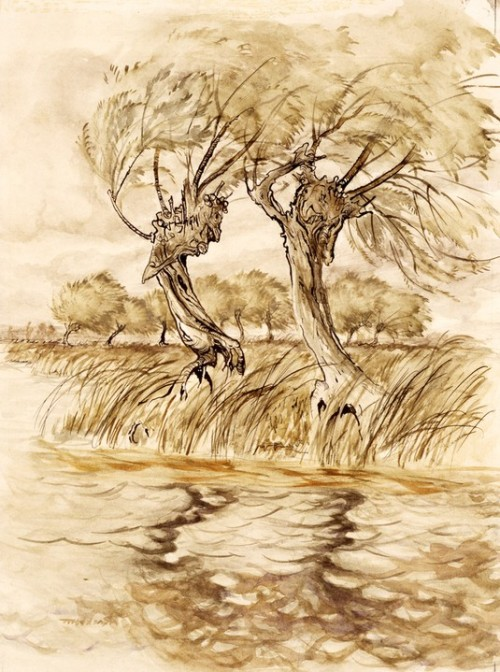 Arthur Rackham, n.d., Wind in the Willows