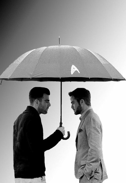 dstod:  Zachary Quinto and Chris Pine
