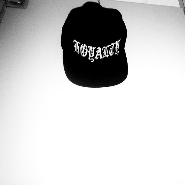 LOYALTY over everything… Snapback available online now: www.theloyaltyclub.us/shop