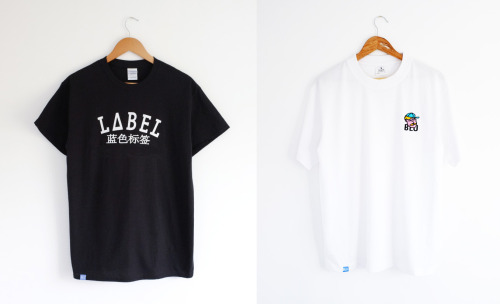 Blu Label New T-shirts. This week we have released two new tees. 蓝色标签 Is a tee that has been brought back from a previous line. This is one of most recognised design with the unique Chinese print for you to rock out in. The second tee we have released is a collaboration with Jaykub. There will be a video coming soon exposing who Jaykub is. This tee features a embroidered design on the left of the tee. This design is minimal and looks fresh warm with an unbuttoned shirt or zip up jackets.  You can pick yours up now from the store for £12.00  Blu Label