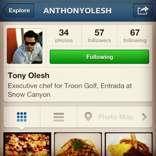 If you're a #foodie or just #food obsessed, you need to follow @anthonyolesh. Troon Golf Executive Chef; killing it! #ff @troongolf