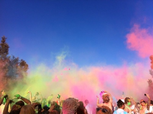 Holi One Festival - Johannesburg, South Africa <3