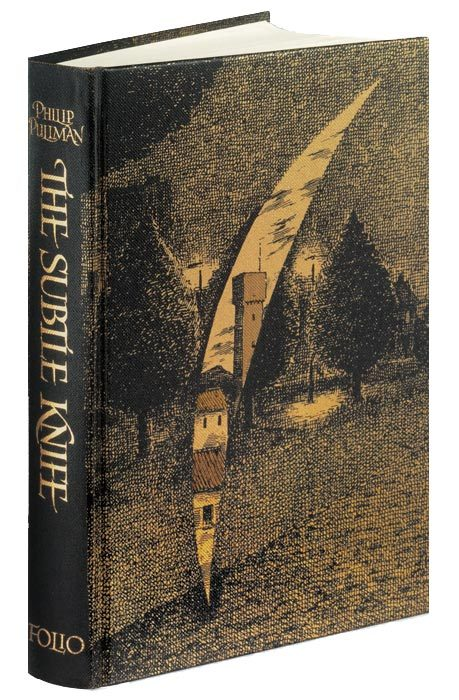 catsandthelaw:  So much lust for the Folio Society edition of His Dark Materials by Phillip Pullman. Illustrated by Peter Bailey