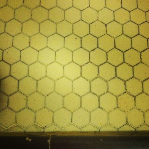 1920's beehive kitchen counter. Long Beach.