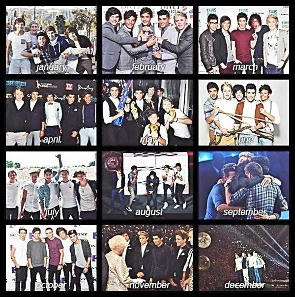 One Direction - @onedirection #1Dmemories I loved this whole year it was amazing xx